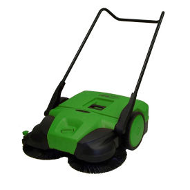 "Deluxe Turbo Walk-Behind Sweeper - 38""W, V22130"