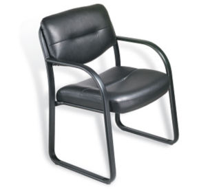 Bonded Leather Guest Chair, C80277