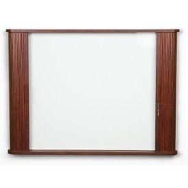Tambour Door Cabinet With White Board, B20919