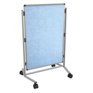 Adjustable Height Vinyl Bulletin Board, B23259