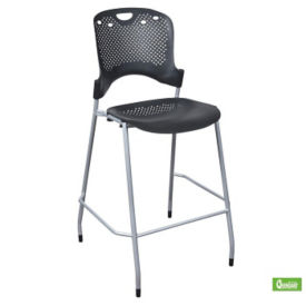 Perforated Armless Stacking Stool, C60006