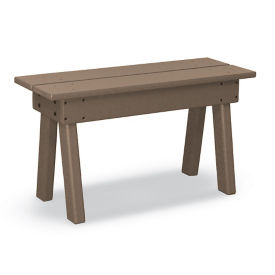 "Recycled Plastic Picnic Table Bench without Arms - 34""W, F10781"