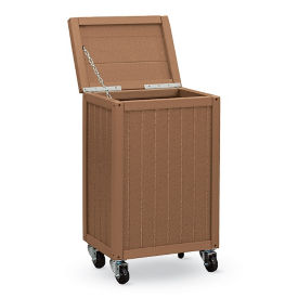 Recycled Plastic Outdoor Mobile Utility Box, F10763