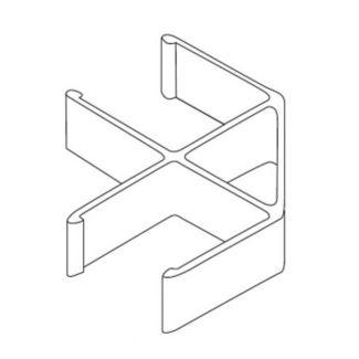 90° Corner Panel Connector, V22009