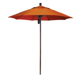 7.5'W Pulley Lift Umbrella with Aluminum Pole, F10314