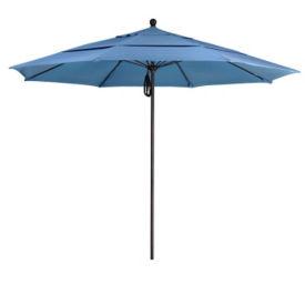 Sunbrella 11'W Pulley Lift Umbrella with Aluminum Pole, F10316