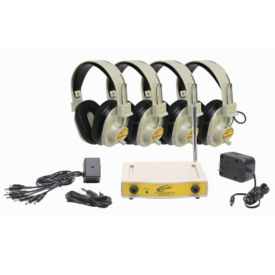 Wireless Listening Center, 72.100 MHz 4 Person, M16184