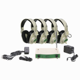 Wireless Listening Center 72.900 MHz 4 Person, M16192