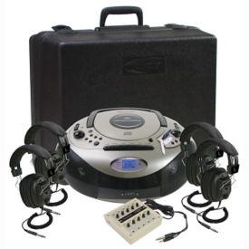 Spirit SD Audio Player Listening Center 4 Person, M16202