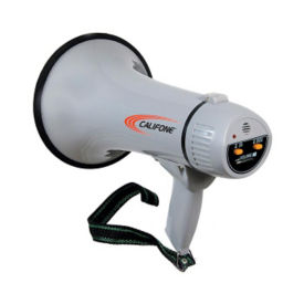 15 Watt Megaphone with Siren, M16228