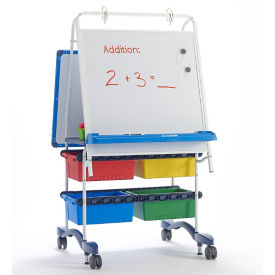 """White Board Reading and Writing Center - 31.5""""W x 56.5""""H, B20122"""