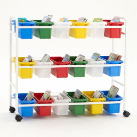 "18 Tub Storage Cart - 36.5""H, B30615"
