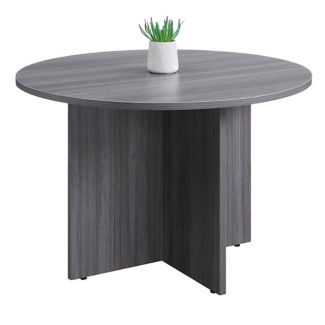 """Formation Round Conference Table - 42""""DIA, T12052"""