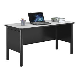 "Stahl Steel Desk Shell with Laminate Top - 60""W x 24""D, D30385"