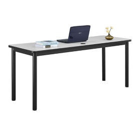 "Steel Table Desk with Laminate Top - 72""W x 24""D, D30372"
