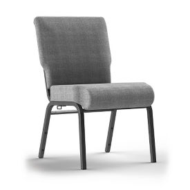 Armless Stack Chair with Ganging Brackets, C60241
