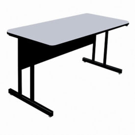 "Desk Height Table 60"" x 24"", E10133"