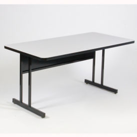 "Desk Height Table 60"" x 30"", E10136"