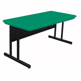 "48"" x 24"" Keyboard-Height Table with Plastic Top, E10151"
