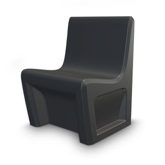Durable Armless Chair , E20004