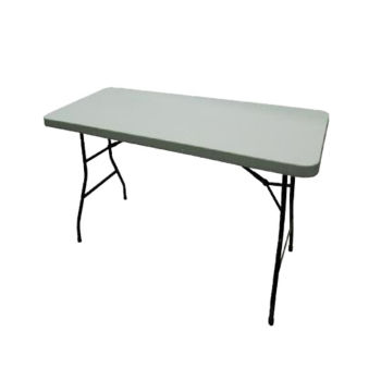 Durable Folding Table With Antimicrobial Top 30 X 72 T10503 And