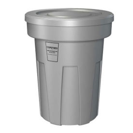 Fire Retardant Trash Can 45 Gallon Capacity, R20154