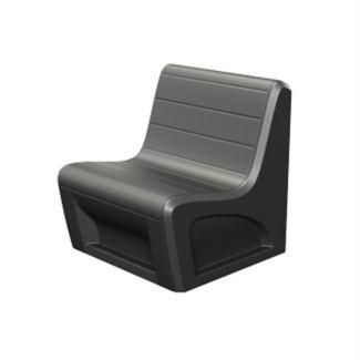 Polypropylene Lounge Chair 1500 lb Capacity, W60551