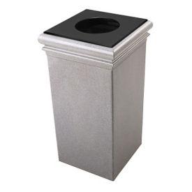 Square Waste Receptacle - 30 Gallon Capacity, V21991