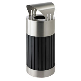 Canopy Top Waste Receptacle - 25 Gallon Capacity, V21988