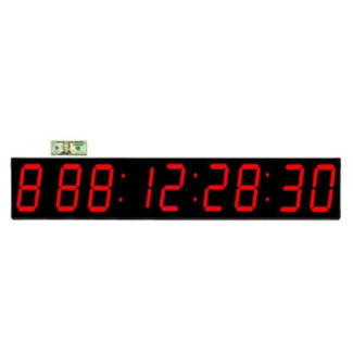 """Event LED Clock 7"""" Timer and Stopwatch, V21741"""