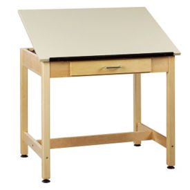 "30""H Drafting Table with Large Drawer, A11167"