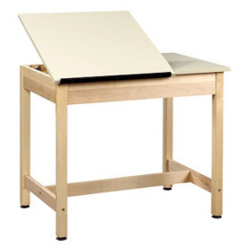 "30""H Dual Surface Drafting Table, A11177"