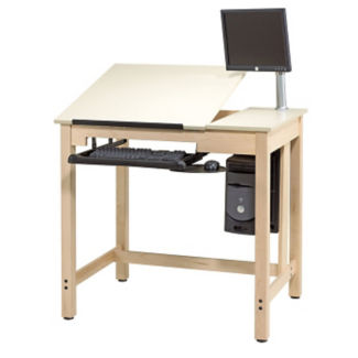 "40""H CAD Drafting Table, A11181"