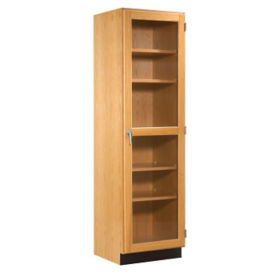 "Science Classroom Storage Cabinet with Glass Doors - 24""W, L70052"