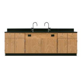 Wall Service Lab Bench Cabinet with Drawers, L70068