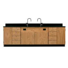Wall Service Lab Bench Cabinet with Drawers, L70069