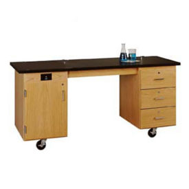 ADA Mobile Lab Demonstration Table without Sink, L70080