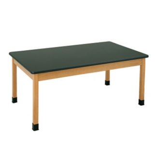 "Epoxy Resin Science Lab Table 30"" x 60"", L70094"