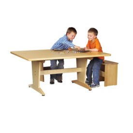 "Art Planning Table with Laminate Top 26""H, T11334"