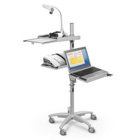 Compact Mobile Workstation Cart, E10046