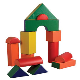 Jumbo Soft Blocks - 14 Piece, P40033