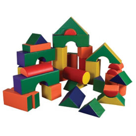 Jumbo Soft Blocks - 35 Piece, P40035