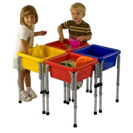 4 Station Sand and Water Table Set, P40276