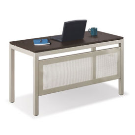 "Table Desk with Modesty Panel - 24""D x 48""W, T11504"