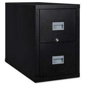 "Fireproof Vertical File with 2 Drawers - 31""D, L40042"