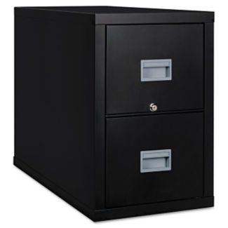 """Fireproof Vertical File with 2 Drawers - 31""""D, L40042"""