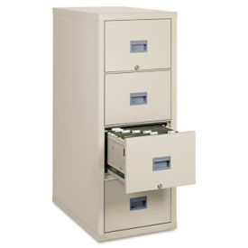"Fireproof Vertical File with 4 Drawers - 31""D, L40045"