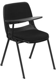 Tablet Arm Chair with Padded Seat and Back, C30169