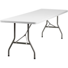 "Plastic Folding Table - 30"" x 96"", T10407"