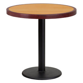 "30"" Round Standard Height Table with Round Base, T11851"